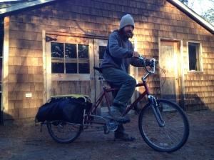 Bryan and his bike