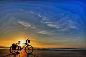 bike ocean